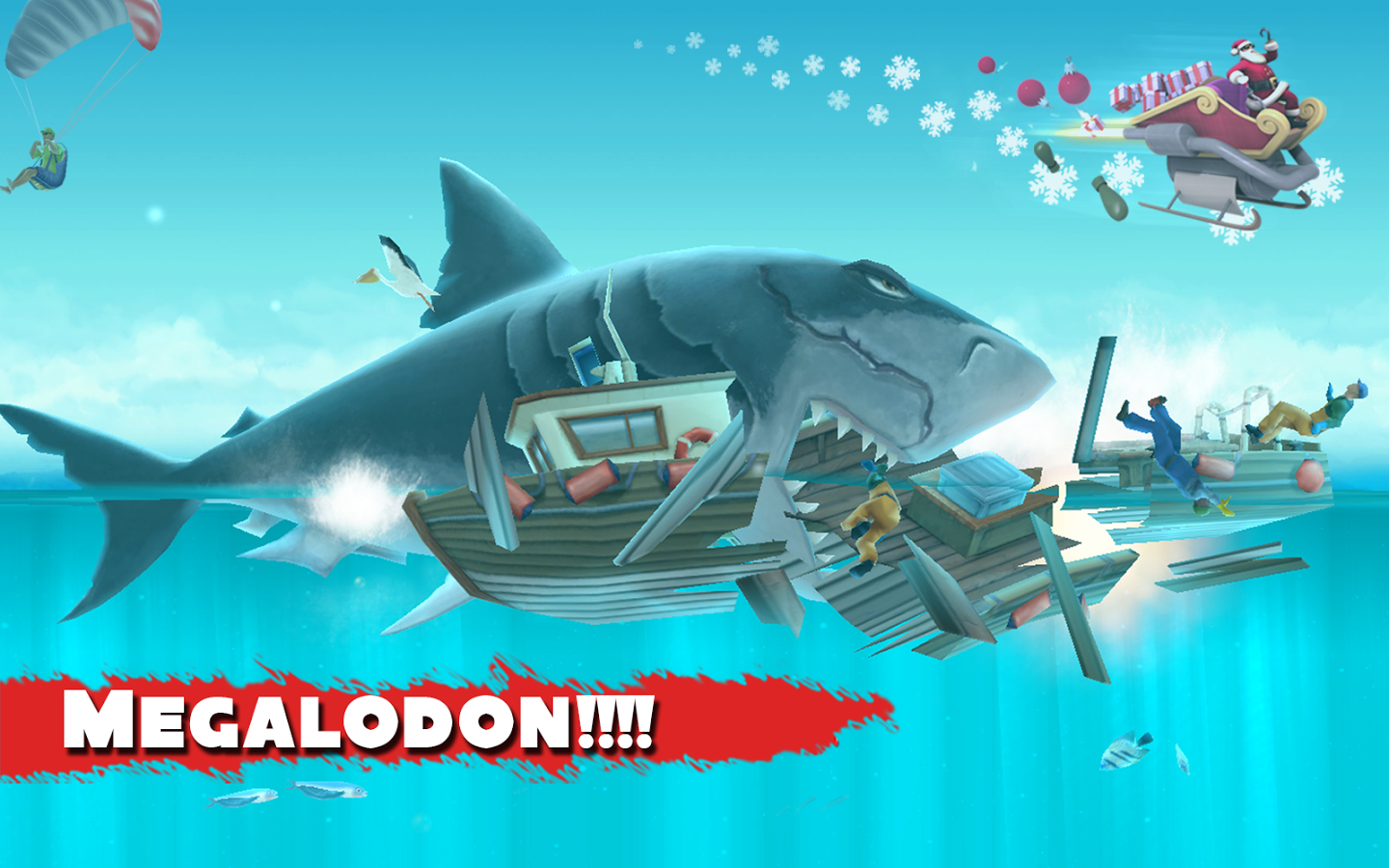 Hungry Shark Evolution Android Resim1 Hungry Shark Evolution v2.6.2 Android Hile MOD APK indir