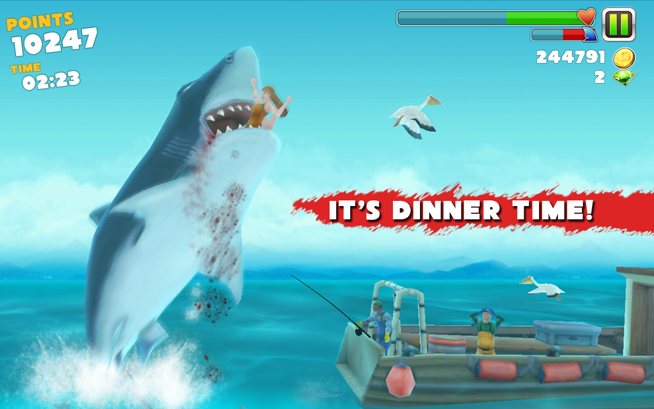 Hungry Shark Evolution Android Resim3 Hungry Shark Evolution v2.6.2 Android Hile MOD APK indir